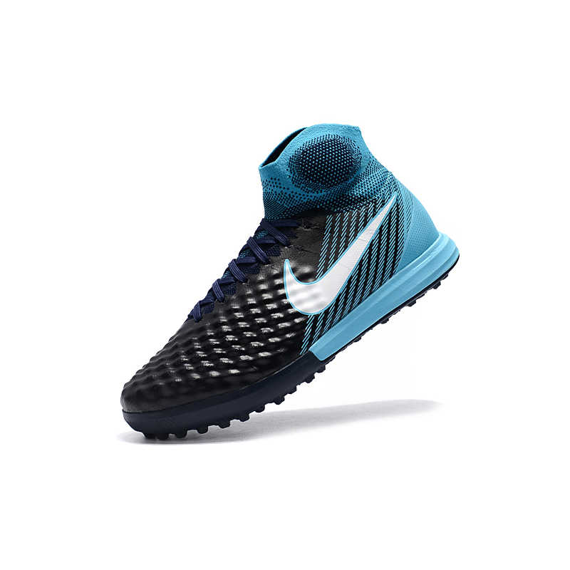 76b11124dd14 ... NIke MagistaX Proximo II TF Soccer Sneakers Blue Outdoor Lawn High  Quality Men Football Shoes 843958 ...