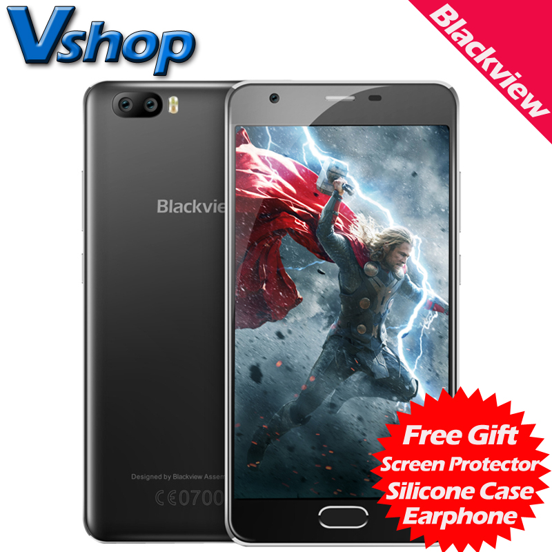 Blackview A9 Pro 4G Android 7.0 2GB RAM 16GB ROM smartphone Dual Back Camera Dual SIM 5.0 inch Cell Phone