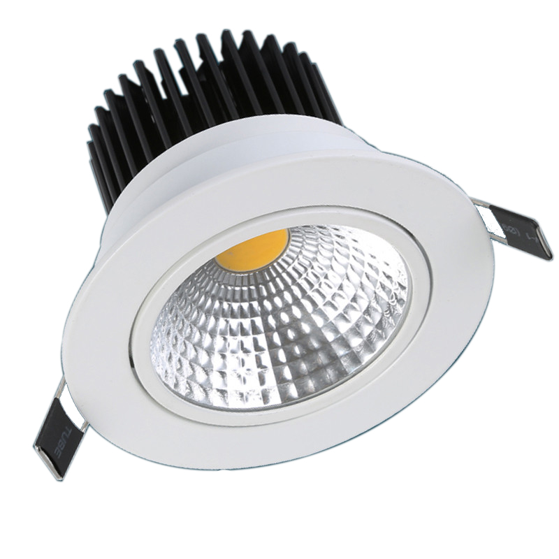 ФОТО  3W 5W 7W 10W 12W 15W 20W 30W LED Downlight High Brightness LED Lamp For Aisle, Bedroom, Hall, Living Room, Dining Room