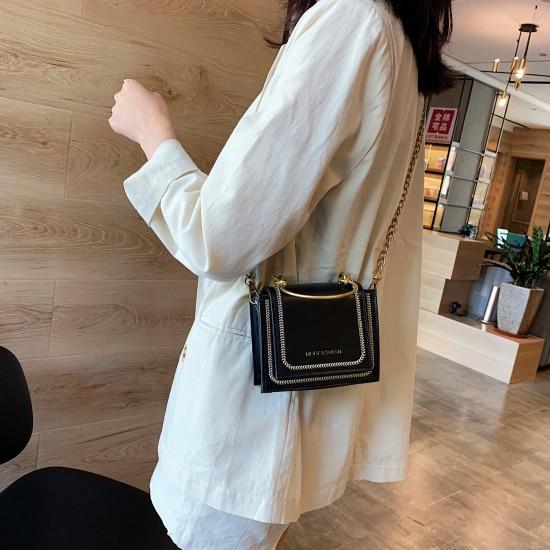 Mini Chain Pu Leather...