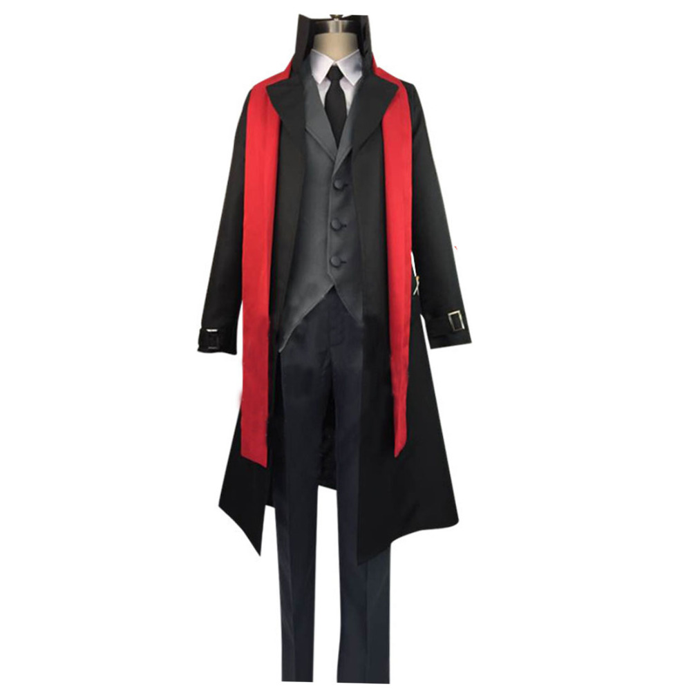 2017 Bungou Stray Dogs Ougai Mori Cosplay Costume