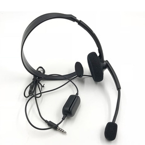 Image 2 - Original Black Wired Chat Chatting Gamer Headset Headsets Headphone With Mic For Xbox One for Microsoft XBOX ONE S version