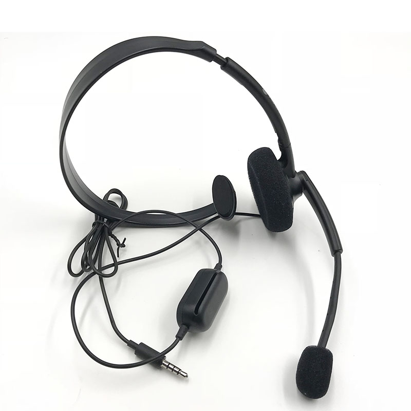 Original Black Wired Chat Chatting Gamer Headset Headsets Headphone With Mic For Xbox One for Microsoft XBOX ONE S version