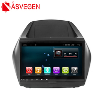 Asvegen Car Radio For Hyundai Tucson IX35 2009 2015 10.2'' Android 6.0 Quad Core Android Wifi GPS Navigation Multimedia Player