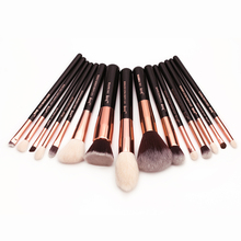 Rose Gold/Black Professional Makeup Brushes Set Make up Brush Tools kit Foundation