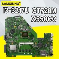 X550CC האם i3-4GB עבור For Asus X552C R510C R510C Y582C מחשב נייד האם X550CC Mainboard X550CC בדיקת לוח האם