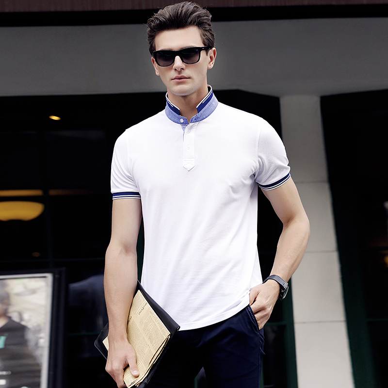 High Quality Mens Polo Clothing New Design 2017 Summer