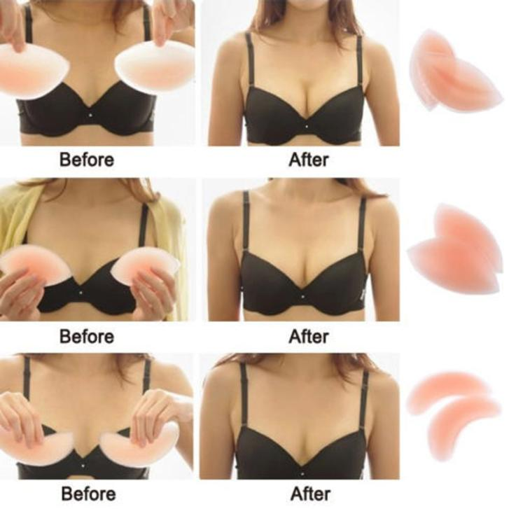 Aliexpress.com : Buy 3 Types Sexy Women Silicone Gel Push Up Bra ...
