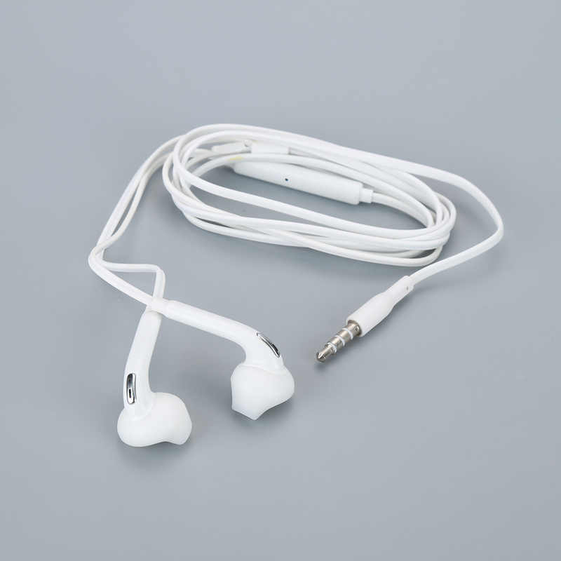 3.5mm In-Ear headphone Stereo Earphone with Microphone for phones Samsung Xiaomi Smartphone MP3 player for Samsung Galaxy S6