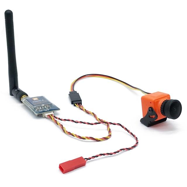 FPV комбинированная система 1200TVL камера + 5,8G 40CH 600 мВт Передатчик с микрофоном широкое напряжение для RC Quadcopter FPV Racing Drone