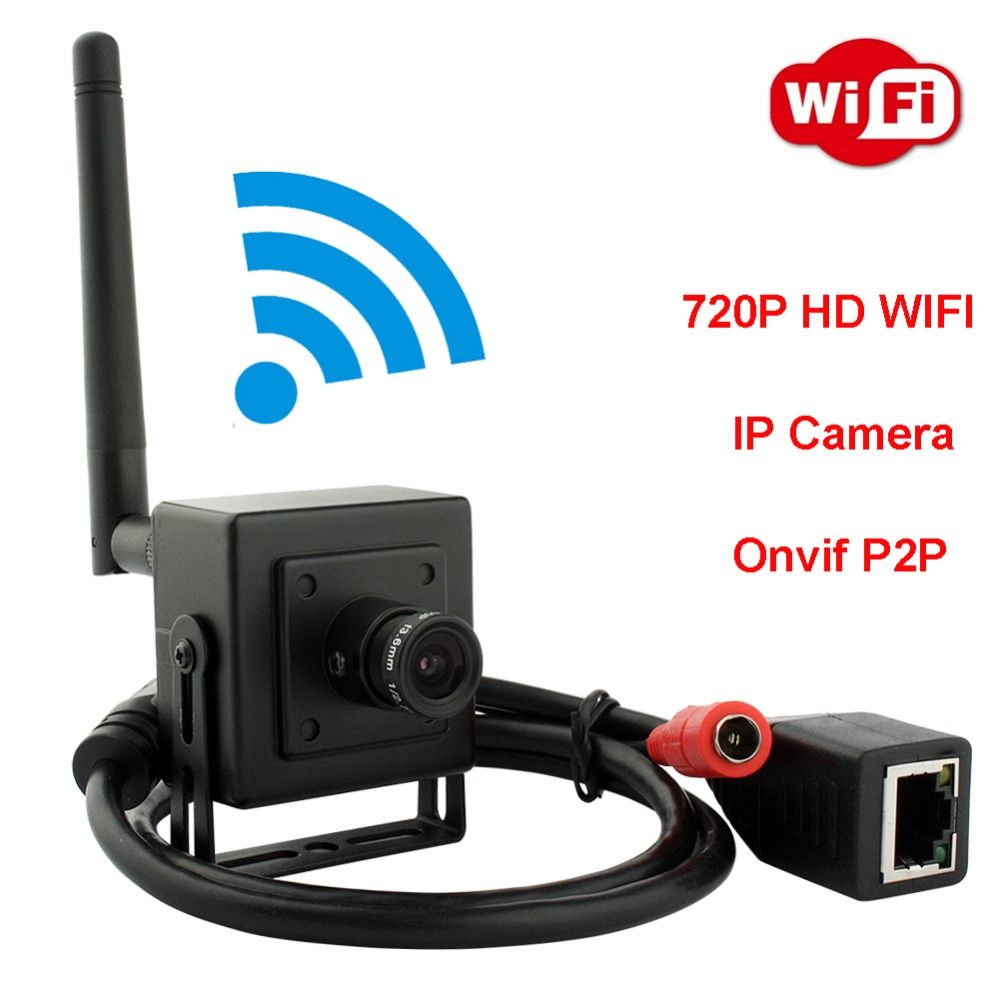 ELP WIFI 720P HD small indoor home security cctv Network 3 6mm lens cmos H 264