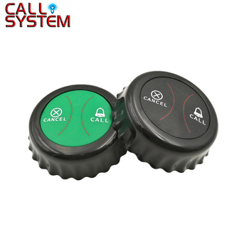 10pcs Restaurant Pager K-J2 Waiter Call Button Transmitter For Cafe Spar Wireless Calling System Customer Service 433MHz
