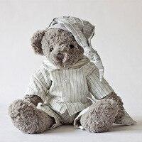 Appease Baby Couple Bears 45cm Teddy Bear Plush Soft Huggable Doll Animal Stuffed Toy For Girls Kids Lover Best Christmas Gift