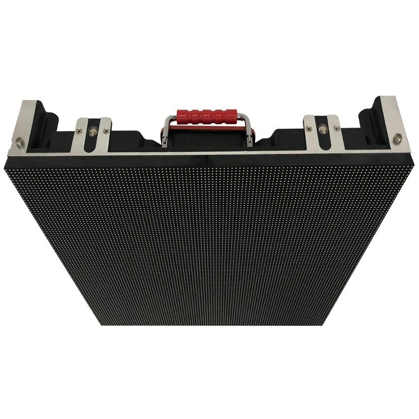 500x500mm 128*128 dots P3.91 SMD1921 extérieur en aluminium moulé sous pression armoire écran rgb LED pour la publicité vidéo mur écran LED