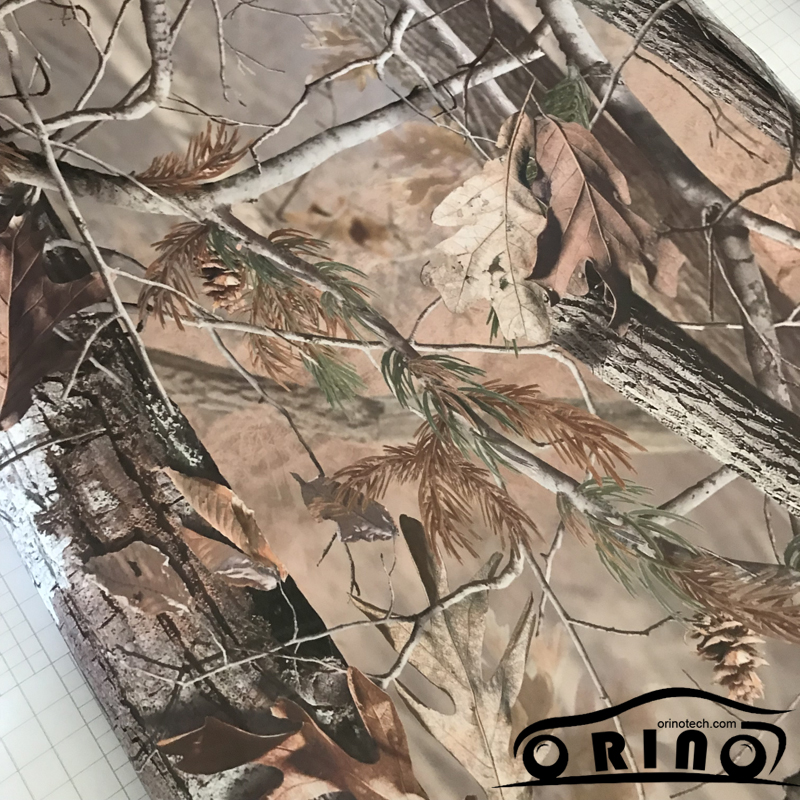 Shadow Gras Vinyl Film ORINO Realtree Auto Wrap Film Met Luchtbel Gratis Camouflage Voertuig Auto Motor Full Wrapping Folie - 3
