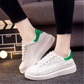 2016 Spring And Autumn Women brand Casual Shoes Thick Soles Height Increasing  Footwear  Comfortable non-slip shoes  size 35-40