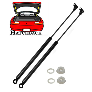 Image 1 - 2pcs Hatchback Lift Support shocks struts For 96 00 Honda Civic SG226032