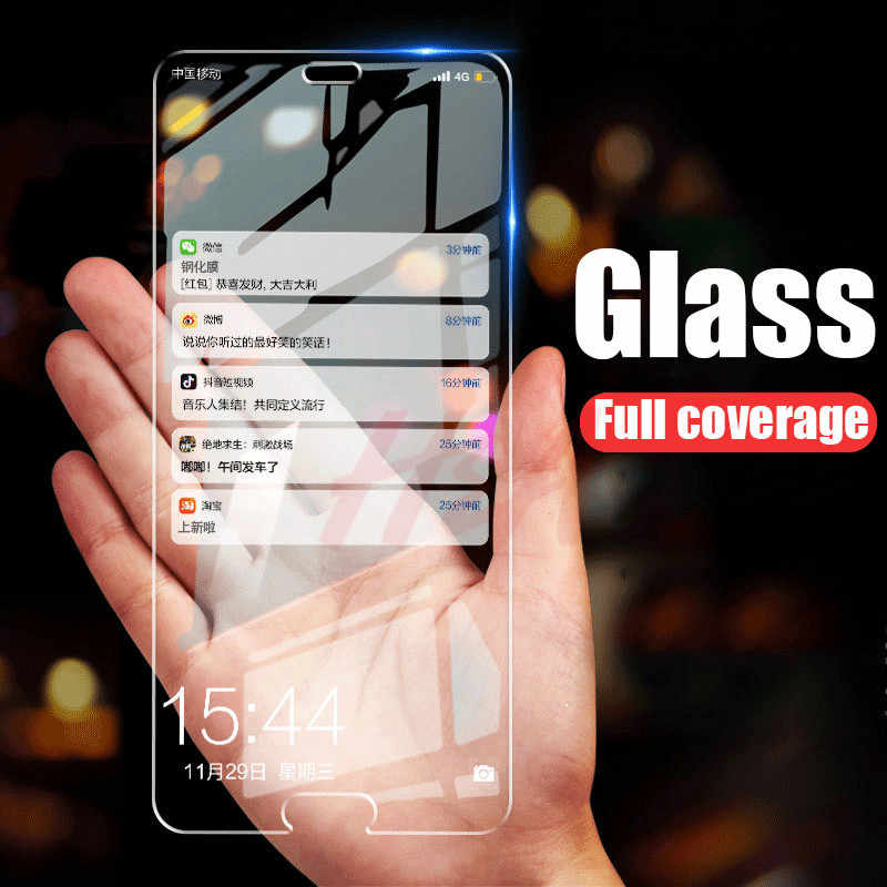 2PCS Full Cover Tempered Glass For Huawei P20 Mate 20 10 Lite P20 Pro Screen Protector P10 P9 Lite Plus P Smart Protective Glass