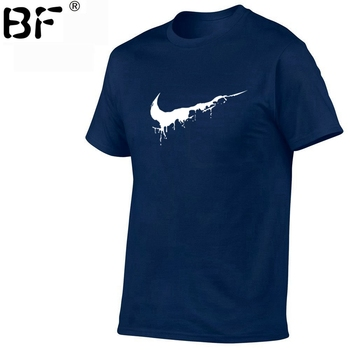 2018 New Brand Mens T-Shirts Summer 100% cotton Short Sleeve T Shirts casual Tee Shirts Male T shirt Homme Plus Size XS-2XL