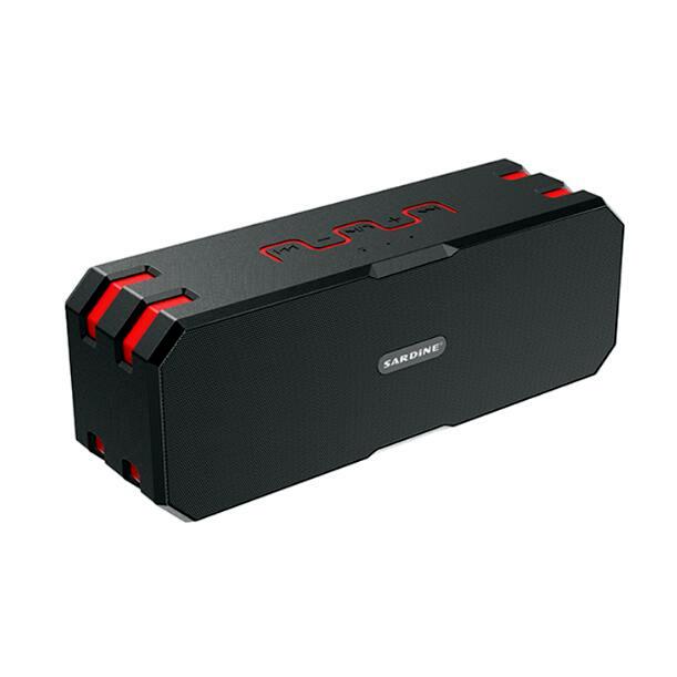 Sardinha originais Grande Potência Amplificador Estéreo Portátil sem fio Bluetooth Speaker Ao Ar Livre à prova d' água mini Alto-falantes de Alta Fidelidade com MICROFONE