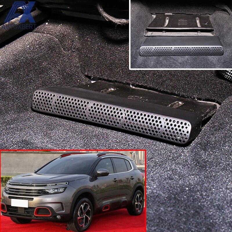 Напольный обогреватель AX для Citroen C5 Aircross Opel Vauxhall granland X, Автомобильный Подогреватель под сидением, вентиляционное отверстие кондиционера, наклейка на коврик