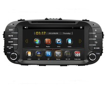 HD 2 din 8″ Car Radio DVD GPS Navigation for Kia Soul 2014 2015 With Car Video Bluetooth SWC TV USB AUX IN