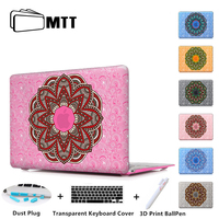 Floral Oriental Pattern Laptop Sleeve Protective Cover For Notebook Apple Laptop Macbook Air Case For Mac