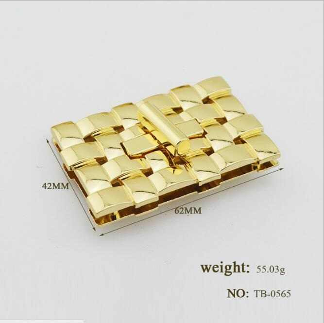 (10 pieces/lot) wholesale bags handbag high-grade metal braided rope shape twist lock decorative buckle hardware accessories Y-5