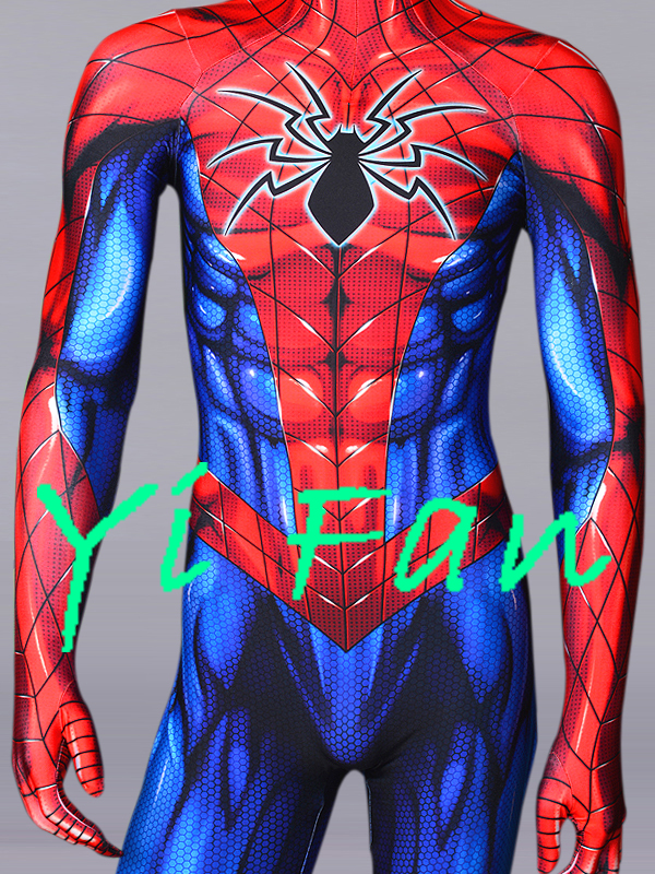 All New Spider-Man Superhero Costume 3D Print Spandex Cosplay Suit Spiderman Costume Custom Made for Adult/Kids
