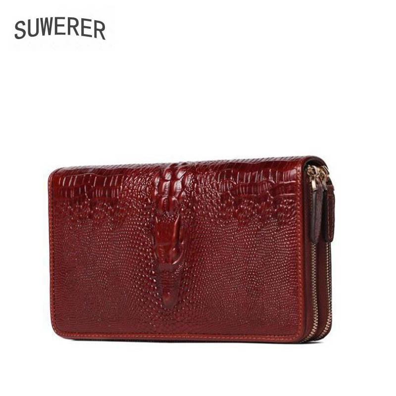 Genuine Leather handbag  2017 new luxury crocodile handbag Fashion handbags Lady walletGenuine Leather handbag  2017 new luxury crocodile handbag Fashion handbags Lady wallet