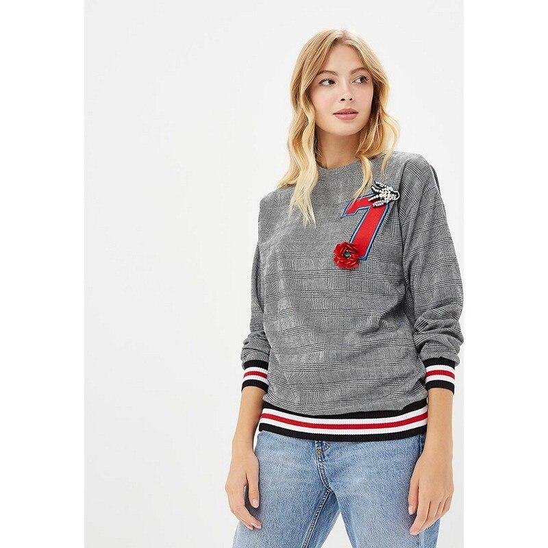 Hoodies & Sweatshirts MODIS M182W00218 hooded jumper sweater for female for woman TmallFS