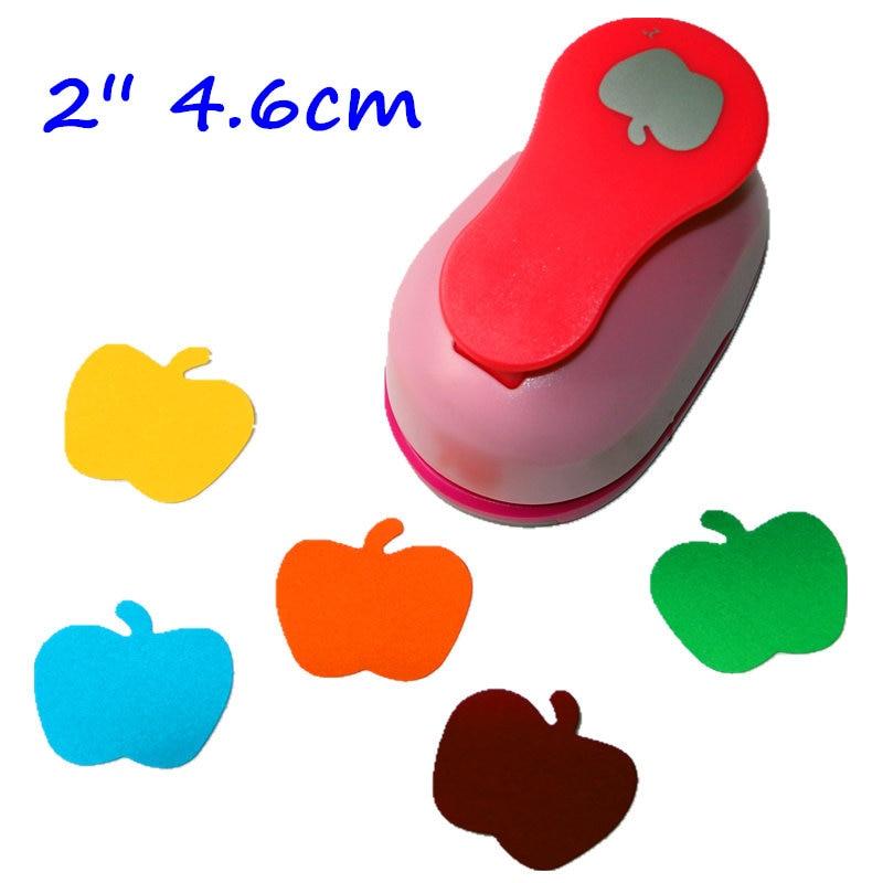 2 Inch (4.6cm) Apple Design Craft Punch For DIY Eva Punch Scrapbook Puncher Furadores Extra Gigante Alavanca 2