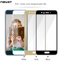 NBYST Full Cover Screen Protector Tempered Glass Film for Huawei P8 P9 LITE 2017 MINI Honor 9I 7X MATE 10 G8 Gx8 P SMART Lite(China)