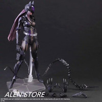 Anime Movie Batman Catwoman Action Figure Movable joints Playarts Kai figurine Toys Collection Model Play arts Kai doll