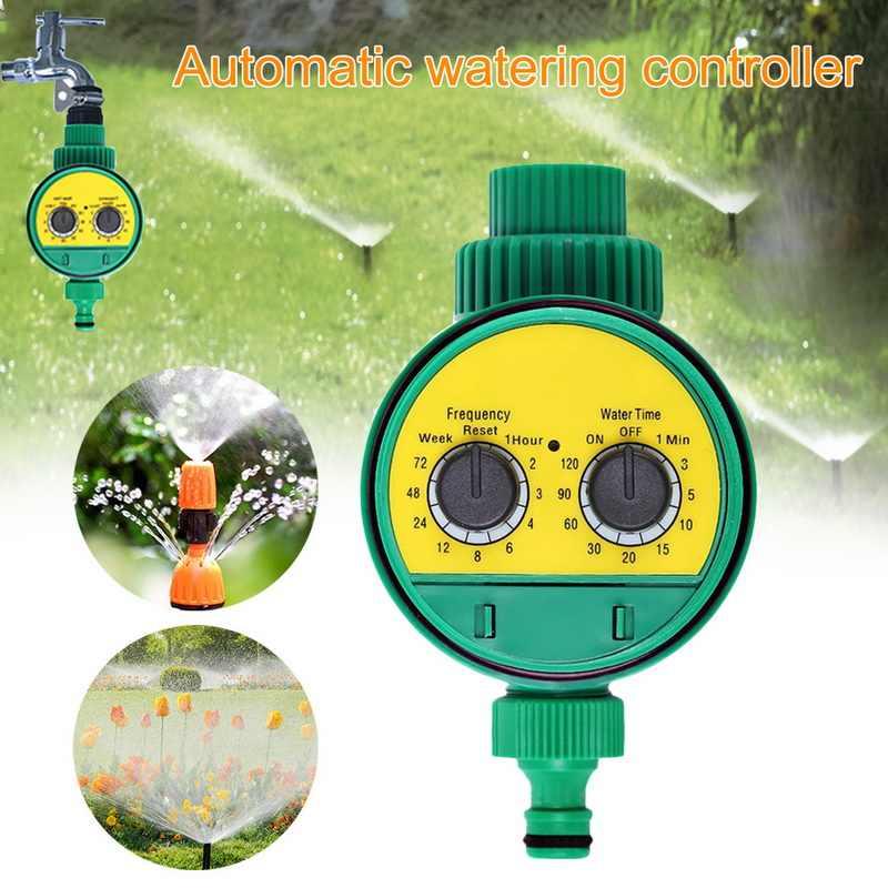 Sistema de riego inteligente temporizador de riego manguera grifo impermeable al aire libre automático On Off LCD Display Smart Controller ABS