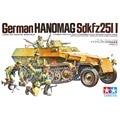 Tamiya 35020 1/35 Alemão Hanomag OHS Sdkfz 251/1 w/5 Figuras Militares Montagem AFV Kits Modelo de Construção