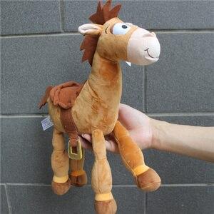 Image 2 - 1ชิ้น35Cm = 13นิ้วตุ๊กตาเดิมBullseyeม้าน่ารักWoodyม้าเด็กของขวัญเด็กของเล่นตุ๊กตาของเล่นเด็ก