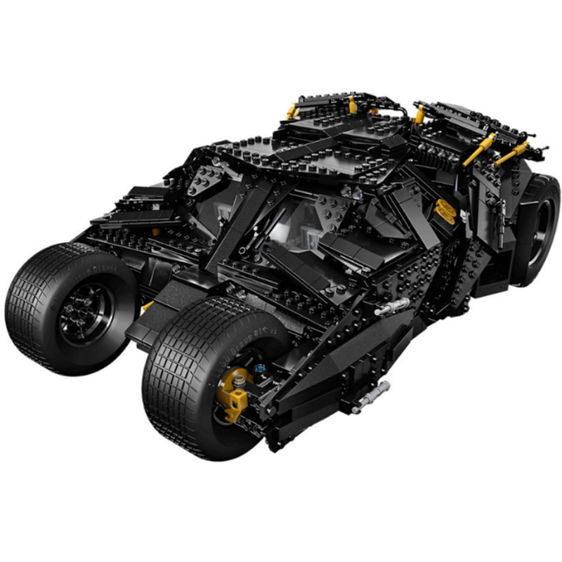 1869pcs Super Hero Batman The Tumbler set Building Bricks Blocks Compatible with 07060 34005 76023 Toys 1869pcs batman decool 7111 dc the tumbler joker model building blocks boys bricks toys superman compatible with lego