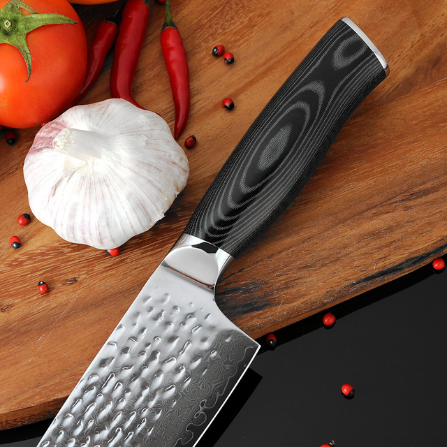 Hand Forged Damascus Chef Knife
