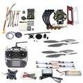 DIY Kit F450 450 Quadro Aeronaves FPV Zangão Quadcopter 4-eixo PXI PX4 920KV Do Motor de Controle de Vôo GPS Transmissor F02192-AE AT9