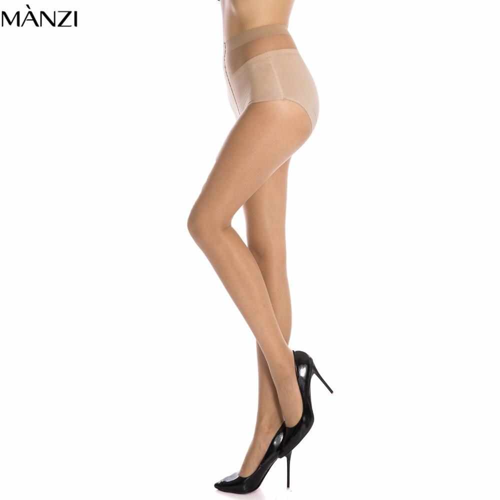 Women showing pantyhose gusset
