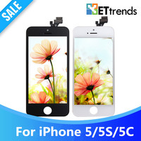 5PCS LOT Promotion Grade A High Quality Copy LCD Screen For IPhone 5 5S Complete LCD