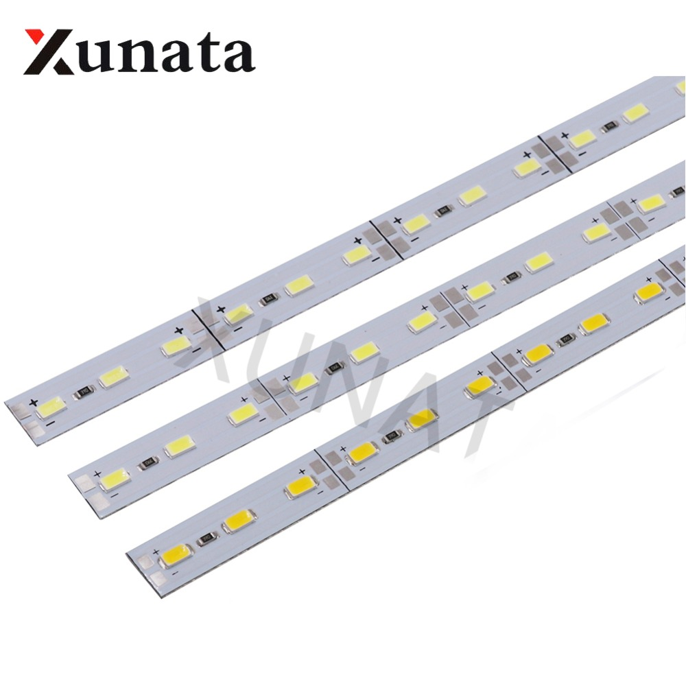 2pcs Dimmable Under Cabinet Strip Lighting7020 7030 9w 50cm Touch Switch Control Kitchen Led Light B Dc12v Rigid Strip Light Cheap And Beautiful Product Led 1 2 In Bns Store