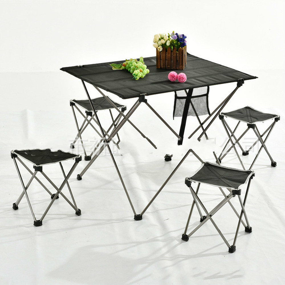 BBQ Family Aluminum Alloy Portable Outdoor Folding Table Outdoor Furniture Picnic Table Camping Table LM12241128