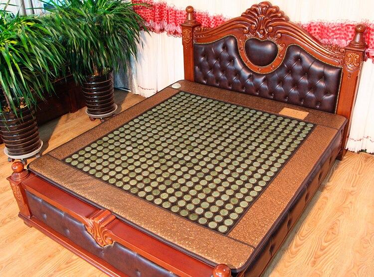 Натурального нефрита кровать Подушки электрическое отопление Дальний инфракрасный физиотерапии Pad 3 Размеры для вас выбор ...