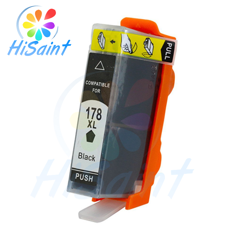 hisaint For <font><b>HP178XL</b></font> cartridges for HP Photosmart B8553 C5383 C6383 D5463 B010b B109c B110a B209b B210 C309h C310b Free shipping image