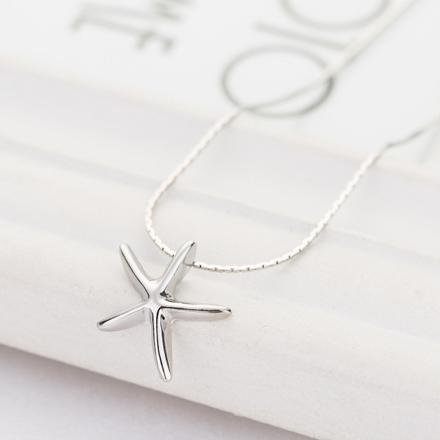 Women's Silver Plated Pendant Necklace