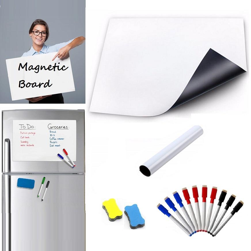A3 Whiteboard Monatliche Planer Magnetische Nachricht Bord Küche Täglichen Flexible Bulletin Memo Boards Kühlschrank Magnet Zeichnung Kalender Kalender, Planer Und Karten