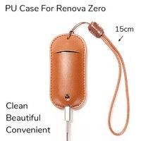 pu leather Original PU bag Lanyard Leather handbag For Vaporesso Renova Zero Pod Dustproof Protection Case E-cigarette Vape Accessories (3)