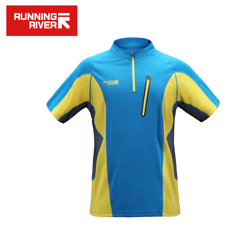 RUNNING RIVER Brand 2017 Hiking T shirts for Man Breathable Quick Drying Comfortable 2 Color 5